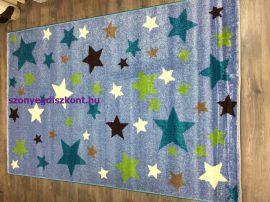 Sima 150x230cm light kék csillagos szőnyeg
