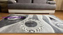 Modern szőnyeg, Platin szürke 3774 60szett=2dbx60x110cm+60x220cm