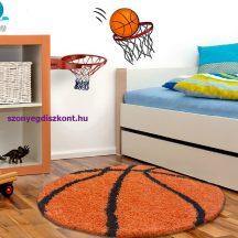 Ay fun 6002 narancs 100cm gyerek shaggy szőnyeg