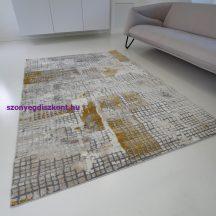 Modern szőnyeg akció, ZARIF 007 bézs-arany 80x150cm