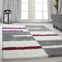 Ay gala 2505 piros 280x370cm - shaggy szőnyeg akció