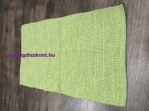Rongyszőnyeg 60X120Cm Zöld Szőnyeg