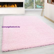 Ay life 1500 rózsaszín 200x290cm egyszínű shaggy szőnyeg
