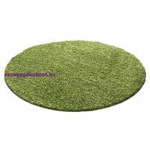 Ay life 1500 zöld 200cm egyszínű kör shaggy szőnyeg