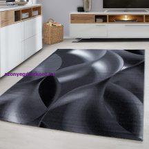 Ay plus 8008 fekete 120x170cm modern szőnyeg akció