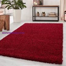 Ay dream 4000 piros 80x150cm egyszínű shaggy szőnyeg