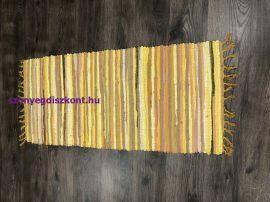 Rongyszőnyeg 60X120Cm A Sárga Szőnyeg