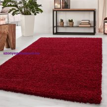 Ay dream 4000 piros 160x230cm egyszínű shaggy szőnyeg