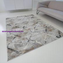 Modern szőnyeg akció, ZARIF 25015 bézs-szürke 80x150cm