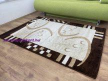 Kyra 673 bézs 80x150cm - modern szőnyeg