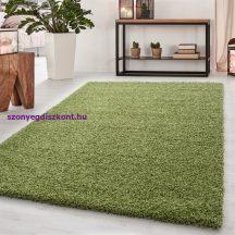 Ay dream 4000 zöld 200x290cm egyszínű shaggy szőnyeg
