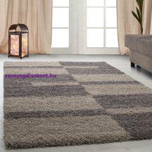 Ay gala 2505 taupe 240x340cm - shaggy szőnyeg akció