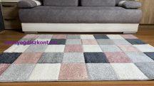 Linett  pink 2421 pink 60szett=60x220+2dbx60x110cm