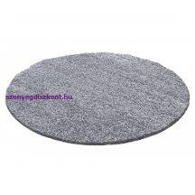 Ay life 1500 világos szürke 200cm egyszínű kör shaggy szőnyeg
