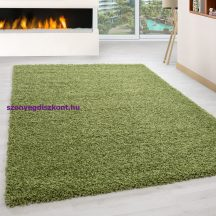 Ay life 1500 zöld 120x170cm egyszínű shaggy szőnyeg