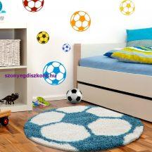 Ay fun 6001 türkiz 120cm gyerek shaggy szőnyeg