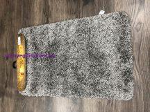 Fürdőszobai szőnyeg Soft 1 rèszes 50x80cm egyszínű szürke