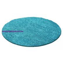 Ay dream 4000 türkiz 120cm kör shaggy szőnyeg