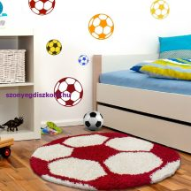 Ay fun 6001 piros 120cm gyerek shaggy szőnyeg