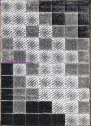 Hosszú Szálú Szőnyeg, Ber Seher 3D 2615 140X190Cm Fekete-Szürke Szőnyeg
