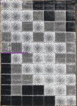 Hosszú Szálú Szőnyeg, Ber Seher 3D 2615 200X290Cm Fekete-Szürke Szőnyeg