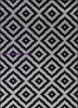 Ber Art 1639 Black 120X180Cm Szőnyeg
