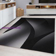 Ay plus 8010 fekete 80x150cm modern szőnyeg akció