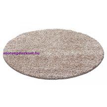 Ay dream 4000 bézs 120cm  kör shaggy szőnyeg