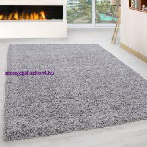 Ay life 1500 világos szürke 140x200cm egyszínű shaggy szőnyeg