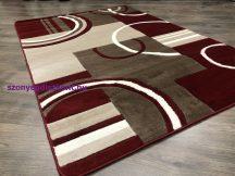 Modern szőnyeg, Platin piros 3702 160x220cm szőnyeg