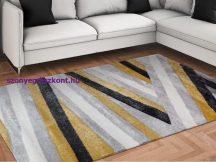 Modern szőnyeg, Franc 0423 sárga 60x110cm szőnyeg