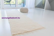 Rüti Rongyszőnyeg 40x70cm nyers színű