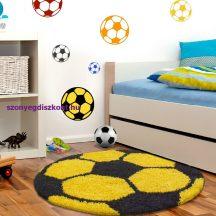 Ay fun 6001 sárga 120cm gyerek shaggy szőnyeg