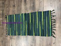 Rongyszőnyeg 60X120Cm A Zöld Szőnyeg