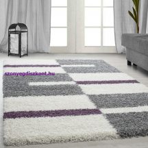 Ay gala 2505 lila 140x200cm - shaggy szőnyeg akció