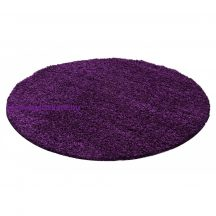 Ay life 1500 lila 200cm egyszínű kör shaggy szőnyeg