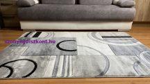 Modern szőnyeg, Platin szürke 3702 60szett=60x220cm+2dbx60x110cm