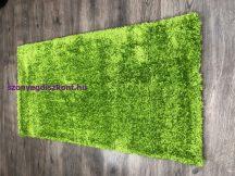 Shaggy Szőnyeg, Egyszínű, Puffy 80X150Cm Zöld Szőnyeg