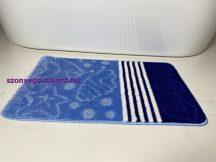 Fürdőszobai szőnyeg 1 részes - kék csillag