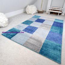 Gyerekszőnyeg akció, EPERKE 80x150cm 521 kék kockás szőnyeg