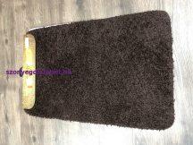 Fürdőszobai szőnyeg Soft 1 rèszes 50x80cm egyszínű csoki
