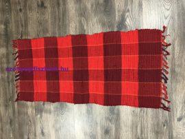 Rongyszőnyeg 60X120Cm C Piros Szőnyeg