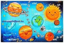 Gyerekszőnyeg  80X120Cm Ob My Torino Kids 230 Solar System Szőnyeg