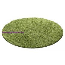 Ay life 1500 zöld 80cm egyszínű kör shaggy szőnyeg