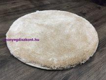 Szuper Puha Kör Szőnyeg 100Cm Krém