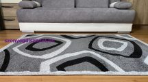 Modern szőnyeg akció, LARA szürke 5027 160x220cm