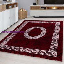 Ay plus 8009 piros 80x150cm modern szőnyeg akció