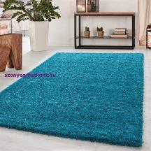 Ay dream 4000 türkiz 65x130cm egyszínű shaggy szőnyeg