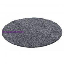 Ay life 1500 sötétszürke 160cm egyszínű kör shaggy szőnyeg