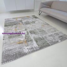 Modern szőnyeg akció, ZARIF 007 zöld-arany 80x150cm